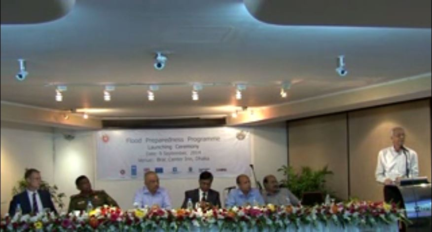 Launching of Flood Preparedness Programme (Video)